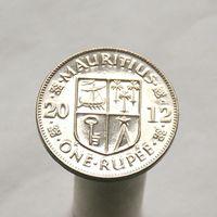 Маврикий 1 рупия 2012