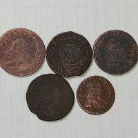 4 солида и грошь Августа 3