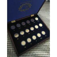 "Набор монет 2 евро 2007 ""Римский Договор"" в кейсе (17 монет)"