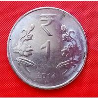 36-21 Индия, 1 рупия 2014 г.