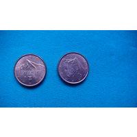 Словакия 1 евро цент 2015г . распродажа