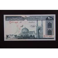 Иран 200 реалов 2004 UNC
