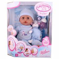 Кукла   BabyANNABELL(46см)(мальчик) с мимикой ,Германия Zapf Creation,в комплекте с музыкальной овечкой(кукла оригинальная)+подарок