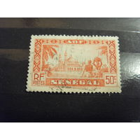 Французcкая колония Сенегал архитектура флора (5-9)