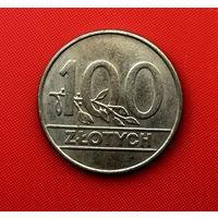55-12 Польша, 100 злотых 1990 г.