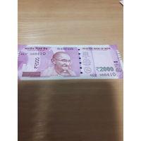 Индия 2000 рупий 2016