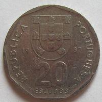 20 эскудо 1987 Португалия