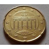 20 евроцентов, Германия 2002 J
