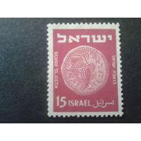 Израиль 1950 монета 15