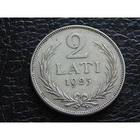 Латвия 2 лата 1925 год.