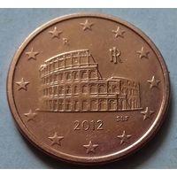 5 евроцентов, Италия  2012 г.