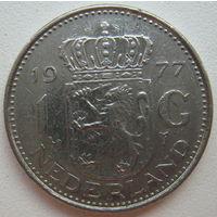 Нидерланды 1 гульден 1977 г.