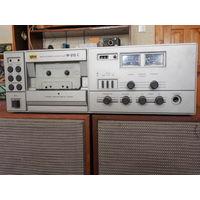Магнитофон  кассетный  М212С   с колонками