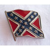 Пряжка для ремня Флаг Конфедерация Байкеры США