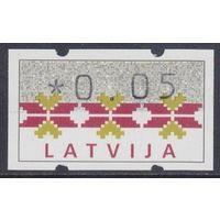 1994 Латвия Автоматные марка **