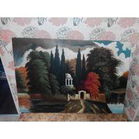 Картина маслом на холсте 97х65см