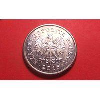 50 грош 2016. Польша. Отличная!