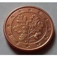 1 евроцент, Германия 2009 A, AU