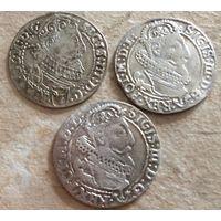 6 грошей 1623  1624