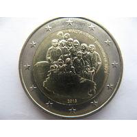 Мальта 2 евро 2013 г. 100 лет Самоуправлению Мальты. (юбилейная) UNC!
