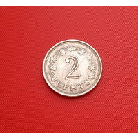 33-09 Мальта, 2 цента 1972 г.