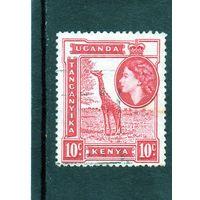 Восточно африканское сообщество. Ми-93.Кения, Уганда, Танганьика. Жираф. 1954