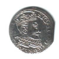 3 гроша 1595 Рига