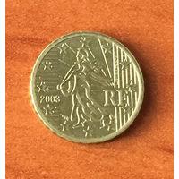 Франция, 10 евроцентов 2003