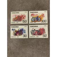 Танзания 1992. История велосипеда