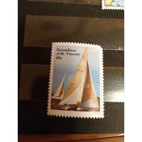 С.Винсент и Гренадины спорт яхта парусник MNH** (3-7)