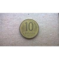 Аргентина 10 сентаво, 1992г. (D-18)