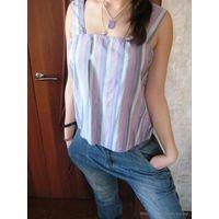 Оригинальная с блёстками блуза р.46-48