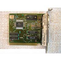 Ретро-видеокарта, монохромный графический адаптер HGC (HGA) с графическим разрешением 720x350 (720x348) точек и дополнительным портом принтера LPT