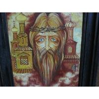 Картина-икона I.Х.Киево-Печёрская лавра !985 г.