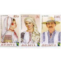 Народная одежда Костюм 2012 Молдова Молдавия **