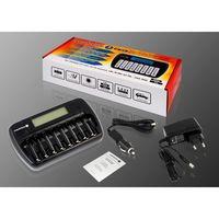 Зарядное устройство EverActive NC-800 - на 8 АКБ