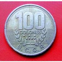 05-04 Коста-Рика, 100 колонов 1995 г.