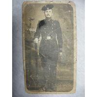 Старинное фото бойца 1913