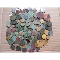 Монеты, 160 штук, без мнц.