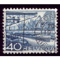 1 марка 1949 год Швейцария 537