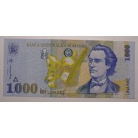 Румыния 1000 лей 1998 год, aUNC.