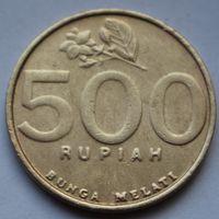 Индонезия, 500 рупий 2001 г.