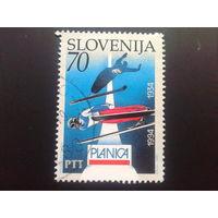 Словения 1994 лыжный спорт