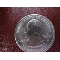 Квотер 25 центов 2007г.Штат Монтана.Р.