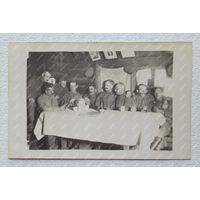 Германцы фото на память 1 Мировая  размер 9х14 см