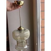 Люстра светильник на одну лампу