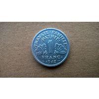Франция 1 франк, 1942г.  Режим Виши