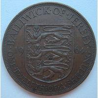 Джерси 1/12 шиллинг 1964 г. Цена за 1 шт. (gl)