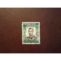 Южная Родезия 1937 г.Георг -VI.Номинал 1 шиллинг.
