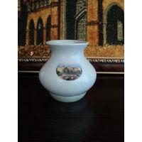 Мини ваза(Мирский замок-7,5см) Минский фарфоровый з-д 1968-83гг.лот 8